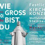 """""""Festlichen Kirchenkonzert"""" in die Wallfahrtskirche Steinhausen"""