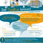 Der SingBus kommt nach Bisingen am 27. Juli!