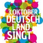 3.Oktober Deutschland singt wieder auf dem Leonberger Marktplatz