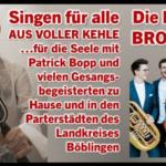 Singen für alle - Patrick Bopp + HANKE BROTHERS am 22.02.2021
