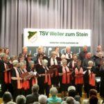 1921 -2021: 100 Jahre Gesangsabteilung des TSV Weiler zum Stein
