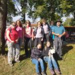 Gesangverein bei Spendenwanderung