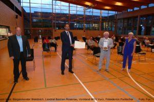 MGV Wimsheim wird mit Zelter-Plakette 2020 ausgezeichnet