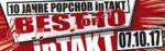 10 Jahre Popchor inTakt – Jubiläumskonzert 2017