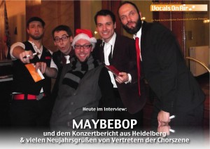 Maybebop bei Vocals on Air