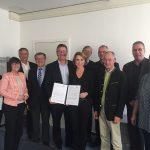 Kooperationsvereinbarung mit Blasmusikverbänden zu den Akademieneubauten