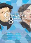 Erstaufführung der Luther-Kantate des Komponisten Makitaro Arima beim großen Chor-Konzert der 8 Arima-Chöre