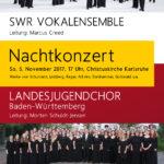 Konzert des Landesjugendchor Baden-Württemberg mit dem SWR Vokalensembles
