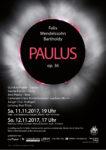 "Mendelssohns Oratorium ""Paulus"" als Jubiläums-Highlight"