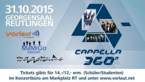 A cappella 360° Veranstaltung_Teaser