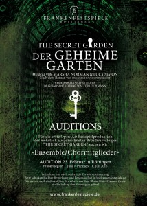 Auditionausschreibung_TheSecretGarden