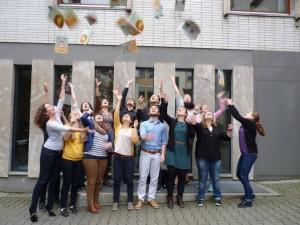 Die Chormanager der Ausbildung 2014/15 in Frankfurt. Bild: Chorzeit