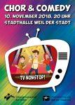 """""""TV-Nonstop!"""" läuft live und in Farbe in der  Stadthalle Weil der Stadt"""