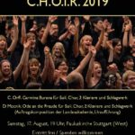 C.H.O.I.R. 2019 am 17. August in Stuttgart