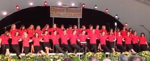 """CHORÄLEN beim Festival """"Open Sound"""" 2014 im Rahmen vom Landes-Musik-Festival auf der Landesgartenschau Schwäbisch Gmünd"""