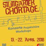 """Auftakt zu den """"12. Stuttgarter Chortagen 2018"""""""