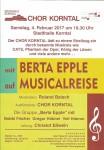 Chor Korntal mit Berta Epple auf Musicalreise