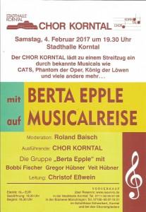 Chor Korntal-Konzert 04.02.2017