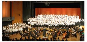 Chorbild  von der Friedensmesse 2013