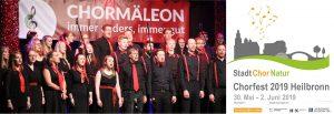 Zweimal am Start: Chormäleon feiert das Chorfest