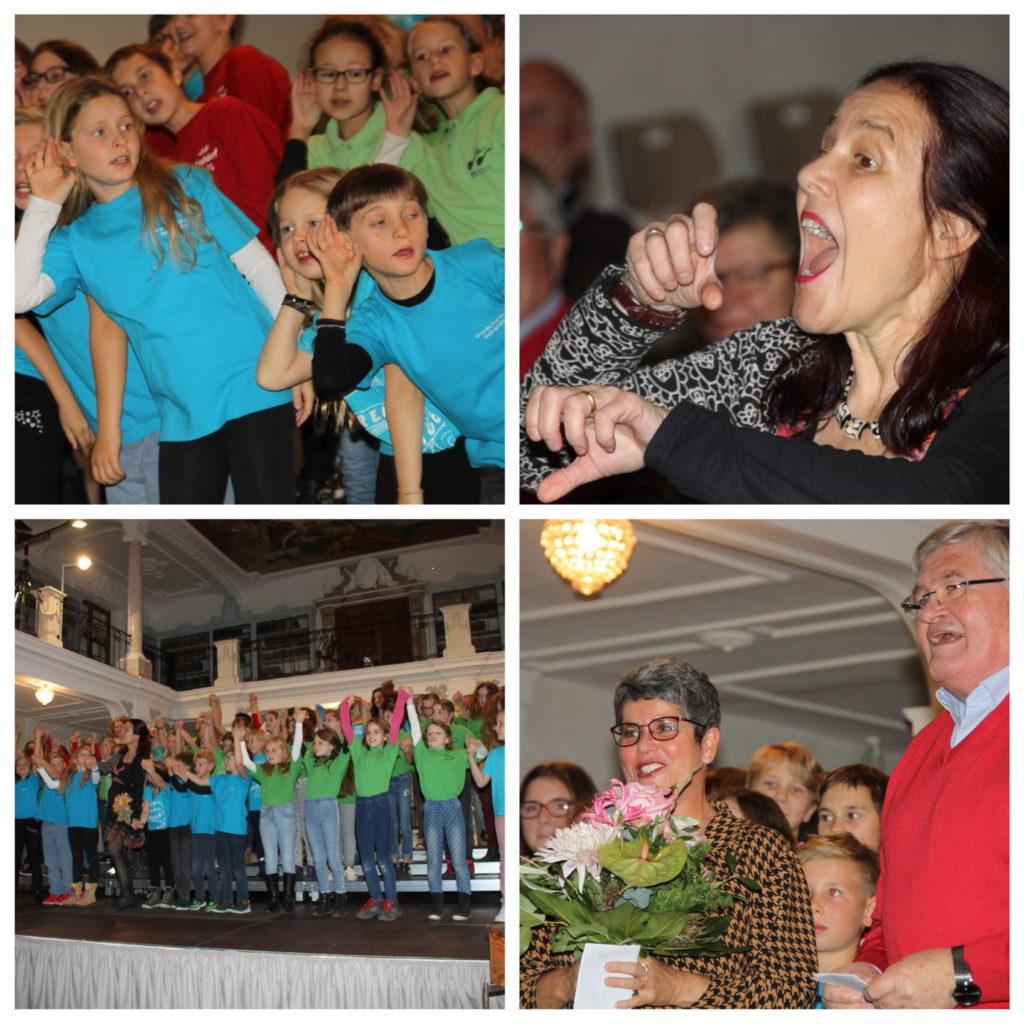 Das Singen im Chor begeistert die Kinder