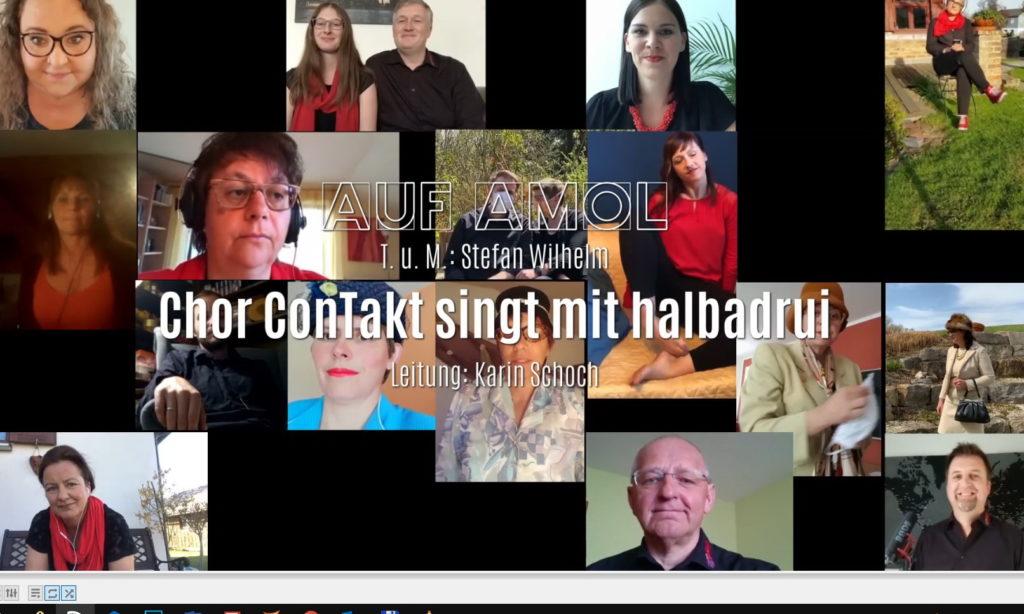 """Singen gegen den """"Corona-Frust"""
