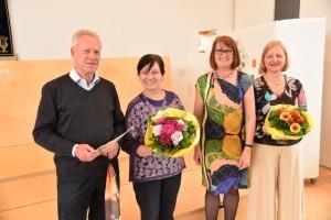 Die Beiräte des CVJK: RainerZühlke, Hannelore Schulz, Annette Hesse