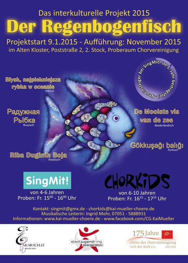 Neues interkulturelles Kinderchorprojekt der Chorvereinigung Weil der Stadt