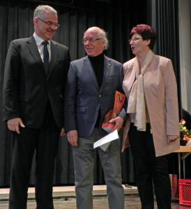 Ehrung Aisenbrey, mit Präs. Schmidt + Präs. Gnann-Hass, Ehrungsfest2017