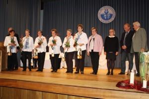 Umrahmt von vielen musikalischen Überraschungen wurden die langjährigen aktiven Sänger der Gesang- und Theatervereinigung Burgberg geehrt.