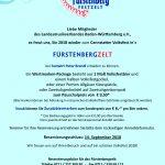 Angebot zum Cannstatter Volksfest für Amateurmusikvereine 2018