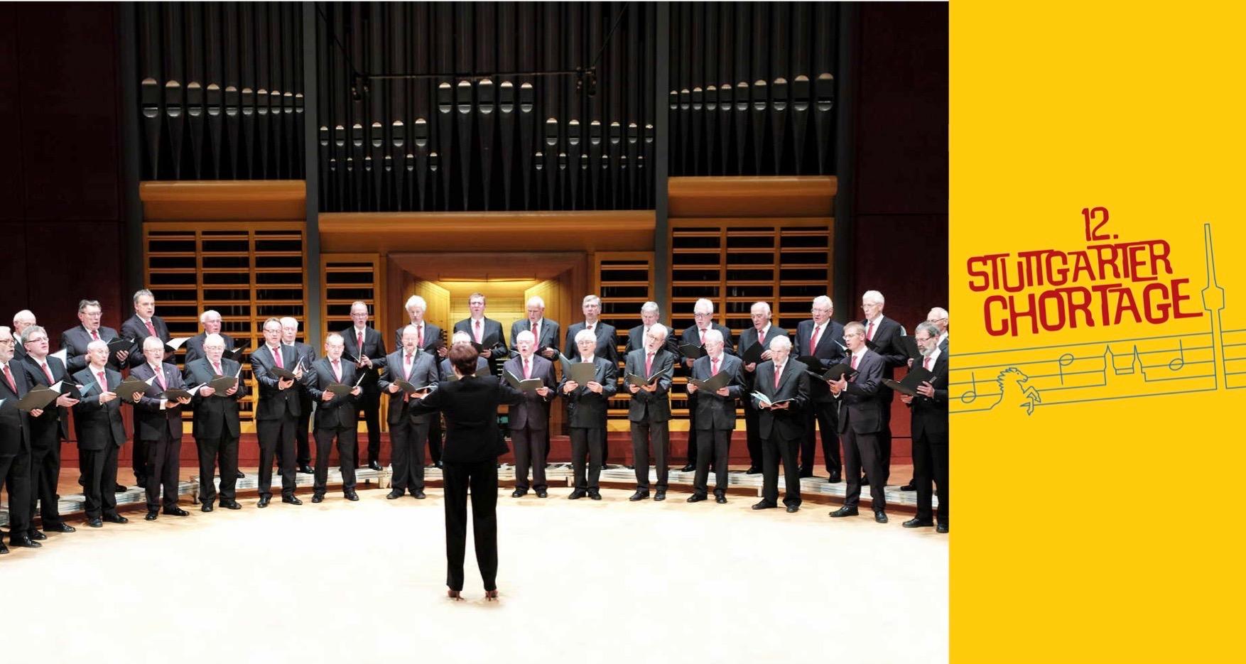 Großes Abschlusskonzert – im Rahmen der 12. Stuttgarter Chortage ...