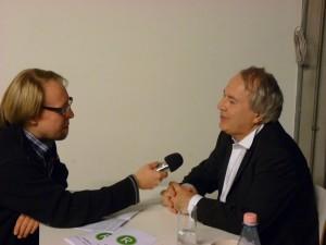 Frieder Bernius bei chor@Berlin im Gespräch mit Vocals on Air