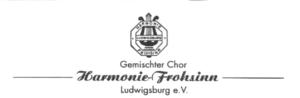 Harmonie Frohsinn Ludwigsburg sucht ChorleiterIn