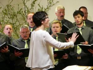 Liederkranz Ruppertshofen-Leofels mit Dirigentin Monika Förnzler