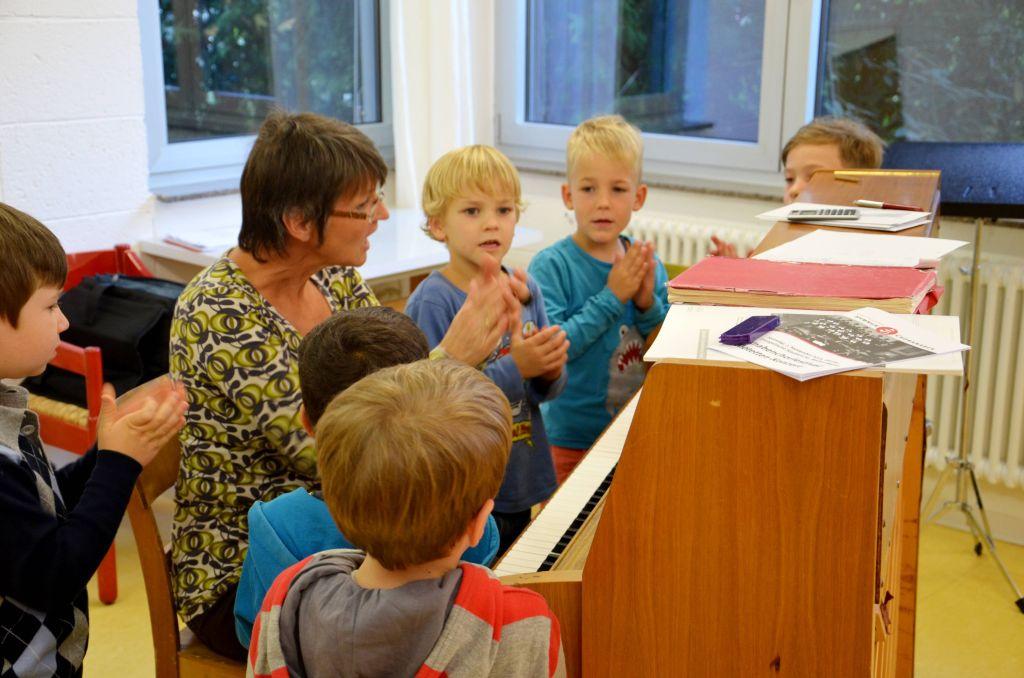 Offene Chorprobe bei den Hymnus Chorknaben
