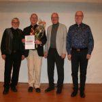 Hartmut Becker feiert Jubiläum und Geburtstag