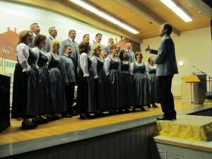 Singgemeinschaft Köstenberg mit Solist Reinhold Gollner