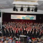Männerchöre begeistern die Besucher beim Chorfestival