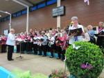 Fröhlicher Gesang verströmte eine besondere Atmosphäre beim 66. Kleinen Sängertreffen