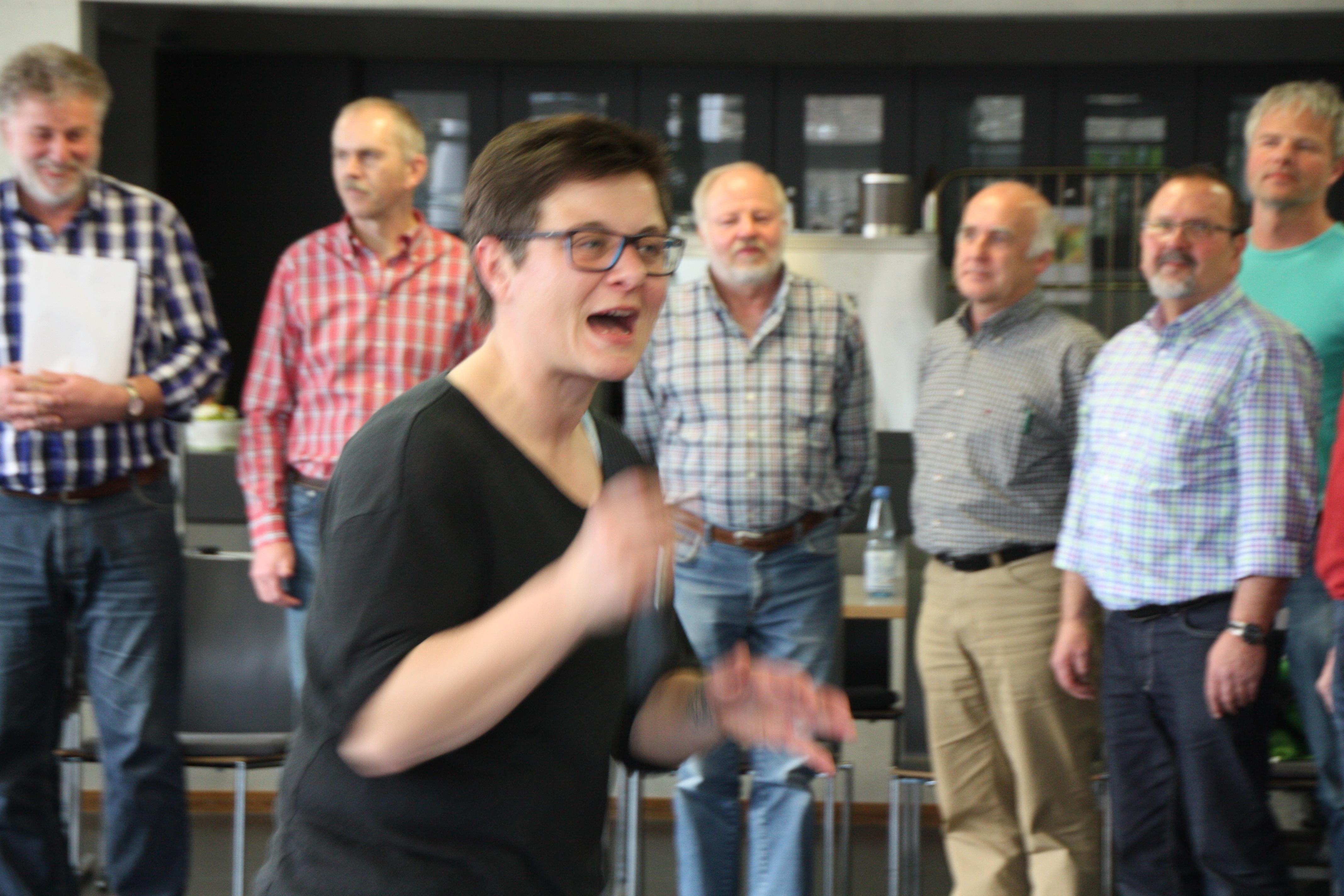 Circlesinging und mehr – Fortbildung der Region Biberach