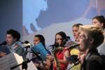 Auftritt des LMJ-Orchesters beim Landesmusiktag 29.10.2016 in Filderstadt