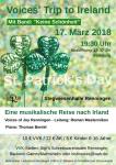 Irisches Konzert zum St. Patrick's Day in der Stegwiesenhalle Renningen