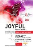 """Kultur @ Kirche: Joyful – Freut euch"""