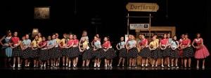 """Der Chorwerkstatt-Jugendchor hatte im Musical """"Filmreif"""" eine wichtige Aufgabe"""