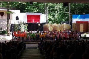 Kinder-Jugendchöre vom CVKP im Naturtheater