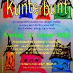 Kunterbunt – Das neue interkulturelle Kindermusical in Weil der Stadt