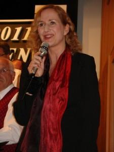 Charmant und fachkundig führte Sabine Eberspächer aus Esslingen durch das Programm
