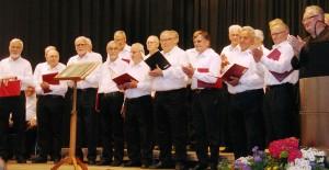 Der Männerchor der Liederkranz Hohengehren - Foto: Roos