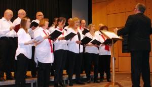 Das Vokalensemble HG im Liederkranz Hohengehren